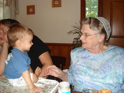 B  Supper Great Gandma and Max